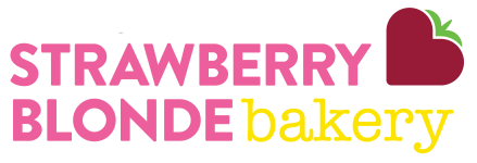Strawberry Blonde Bakery Logo